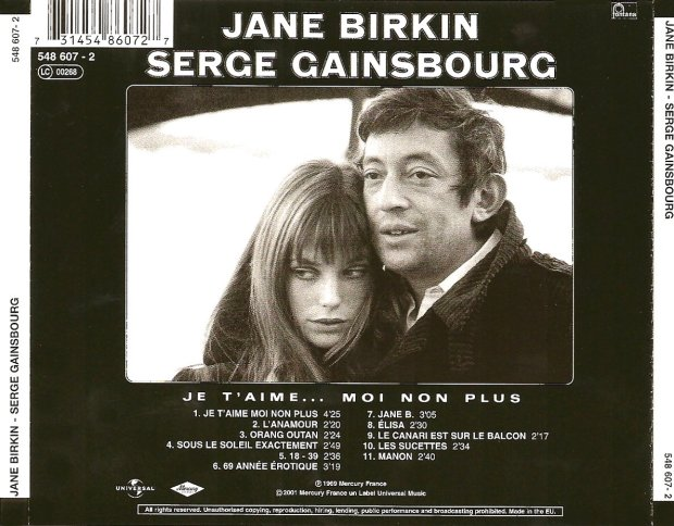 Jane Birkin & Serge Gainsbourg - Back